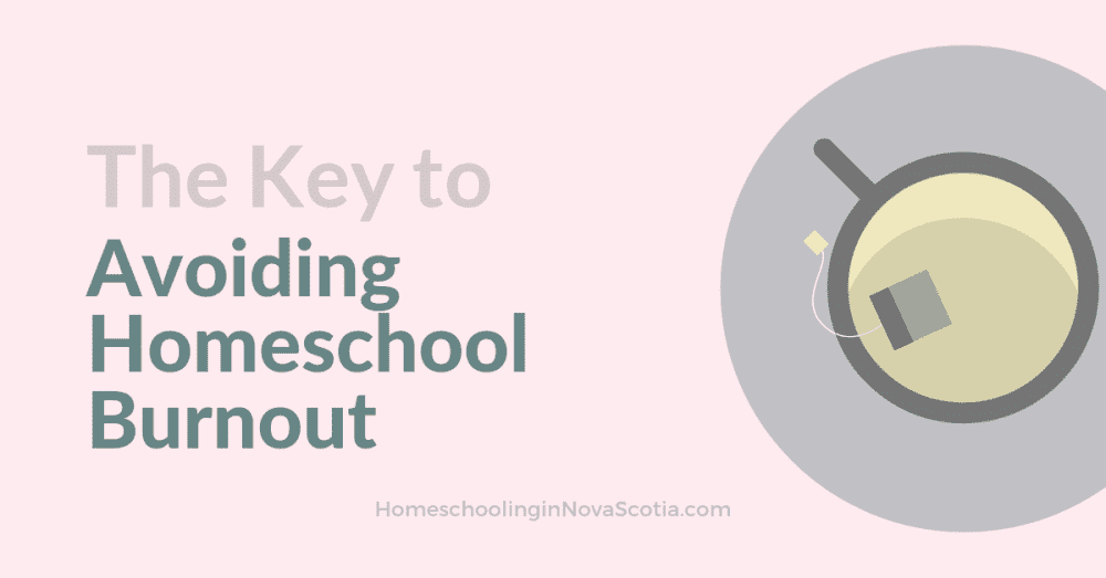 avoiding homeschool burnout