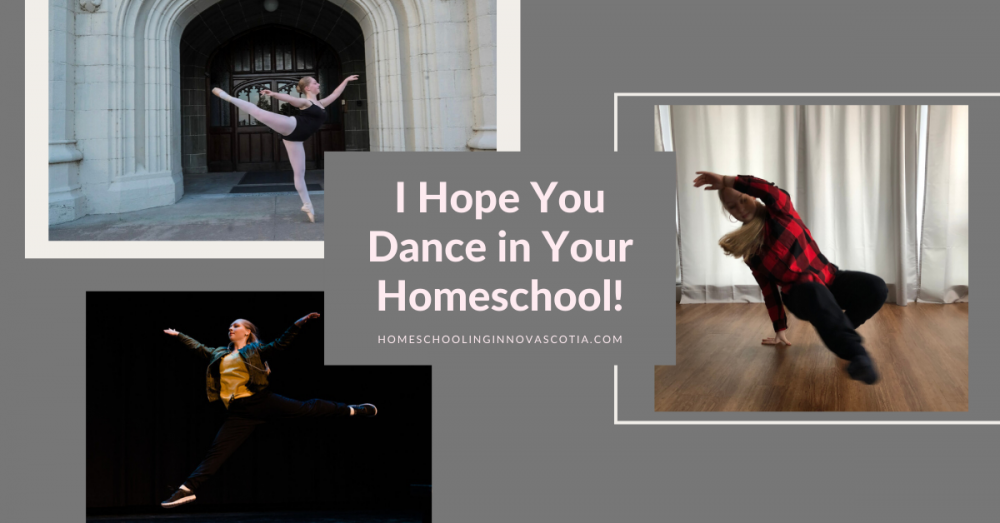 dance in your homeschool - girl dancing ballet urban and breakdance