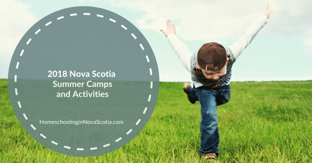 2018 nova scotia summer camps - little boy running