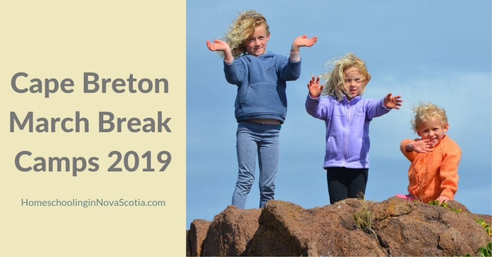 cape breton march break camps 2019