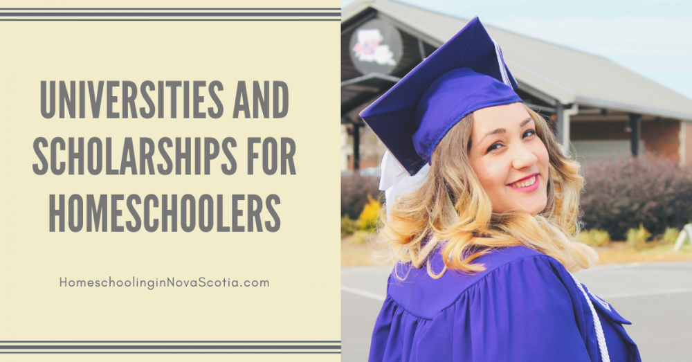 universities and scholarships for homeschoolers - girl in graduation cap and gown